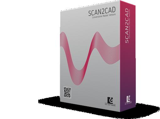 Scan2CAD software conversione raster-vettore