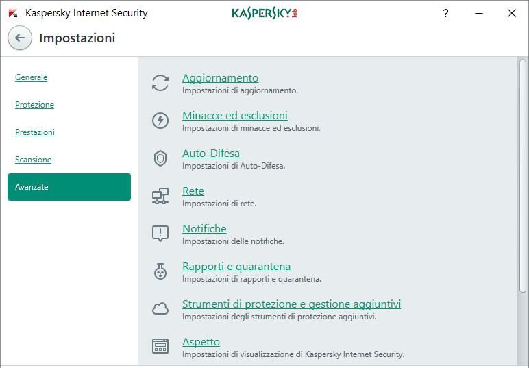 Avanzate-Kaspersky