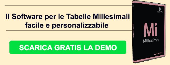 software tabelle millesimali